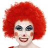 Red Clown Wig at Fancy Dress and Party