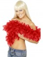 Red Feather Boa at Fancy Dress and Party