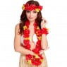 Red Hawaiian Set at Fancy Dress and Party