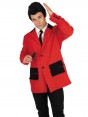 Red Teddy Boy Costume at Fancy Dress and Party