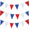 Red, White and Blue Bunting at Fancy Dress and Party