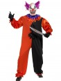 Scary Clown Costume at Halloween Fancy Dress and Party