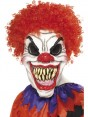 Scary Clown Mask at Halloween Fancy Dress and Party