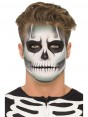 Skeleton Make Up at Halloween Fancy Dress and Party