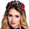 Spider Tiara Rose Headband at Fancy Dress and Party
