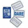 Stag Dare Cards at Fancy Dress and Party