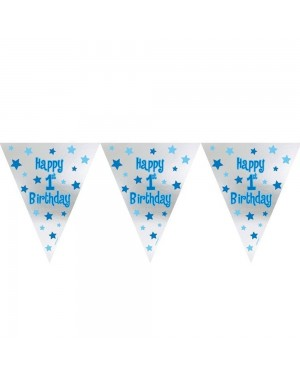 1st Birthday Bunting Boy at Fancy Dress and Party