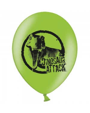 6 x Latex Dinosaur Balloons at Fancy Dress and Party