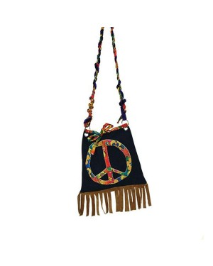 60s Hippie Bag at Fancy Dress and Party