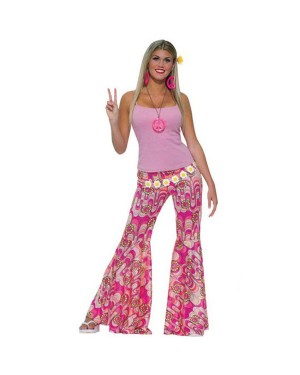 60s Hippie Flares at Fancy Dress and Party