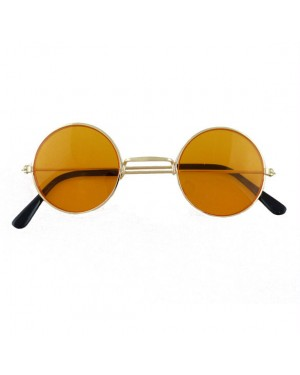 60s Orange Hippie Glasses at Fancy Dress and Party