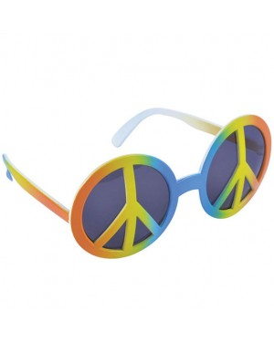 60s Peace Glasses at Fancy Dress and Party