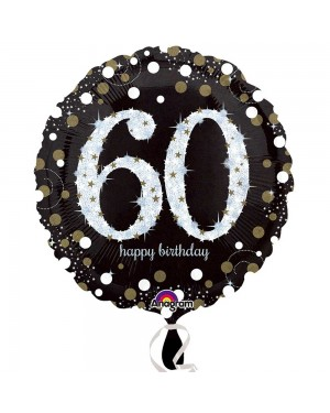 60th Birthday Balloon at Fancy Dress and Party