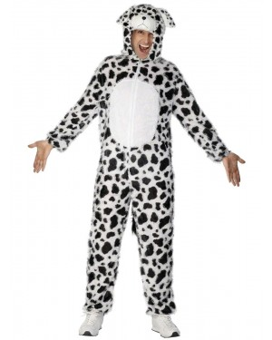 Adult Dalmatian Costume at Fancy Dress and Party