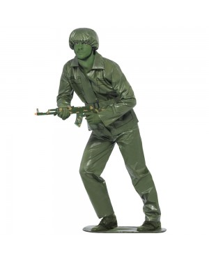 Adult Toy Soldier Costume Front View at Fancy Dress and Party