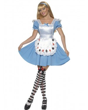 Alice Costume Front at Fancy Dress and Party