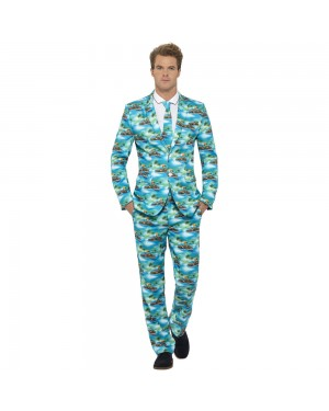 Aloha! Stand Out Suit Front View at Fancy Dress and Party