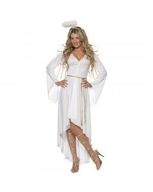 Angel Costume Front View at Fancy Dress and Party