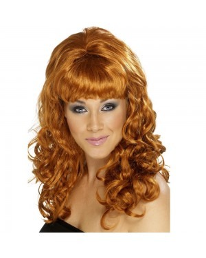 Auburn Beehive Beauty Wig at Fancy Dress and Party