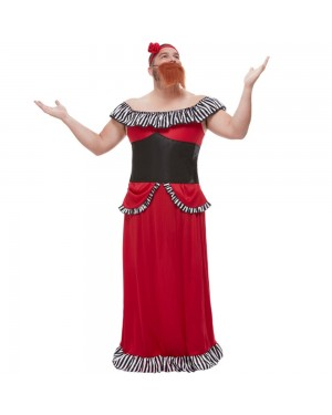 Bearded Lady Costume at Fancy Dress and Party
