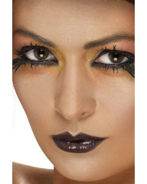Black Lipstick at Halloween Fancy Dress and Party