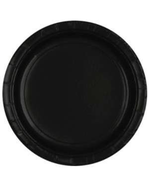 Black Paper Plates at Fancy Dress and Party