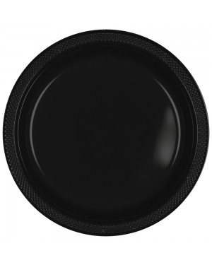 Black Plastic Plates at Fancy Dress and Party