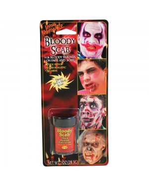 Bloody Scab Make Up Kit at Fancy Dress and Party