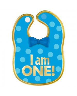 Blue 1st Birthday Bib at Fancy Dress and Party
