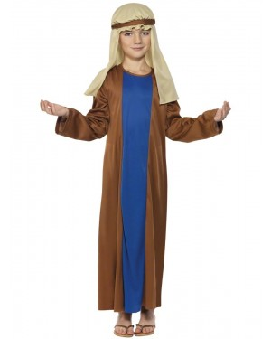 Boys Joseph Nativity Costume Front at Fancy Dress and Party