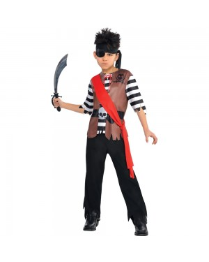 Boys Pirate Costume at Fancy Dress and Party