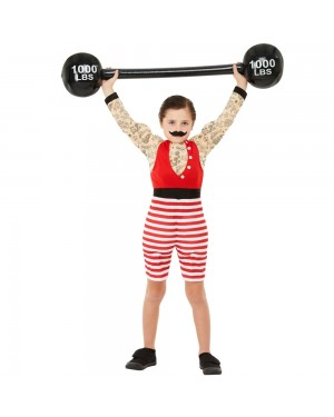 Boys Strongman Costume at Fancy Dress and Party