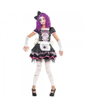 Broken Doll Costume at Fancy Dress and Party