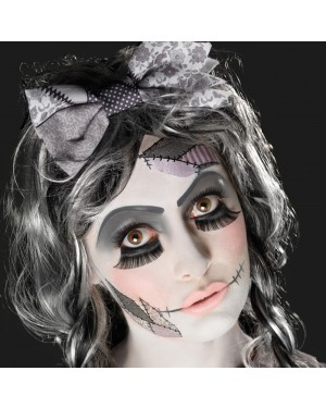 Broken Doll Make Up Final View at Fancy Dress and Party