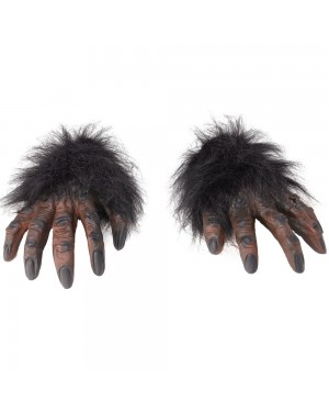 Brown Hairy Hands at Fancy Dress and Party
