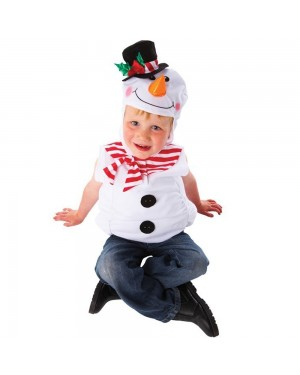 Childrens Snowman Costume at Fancy Dress and Party