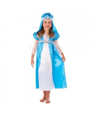 Childs Mary Nativity Costume at Fancy Dress and Party