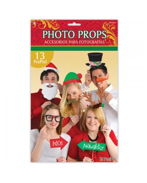 Christmas Photo Prop Kits at Fancy Dress and Party