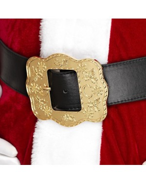 Deluxe Santa Belt at Fancy Dress and Party