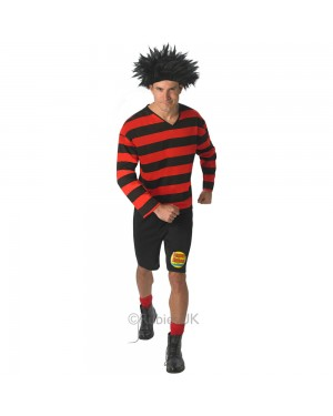 Dennis the Menace Costume Front View at Fancy Dress and Party