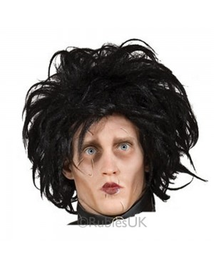 Edward Scissorhands Wig at Fancy Dress and Party