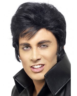 Elvis Wig at Fancy Dress and Party