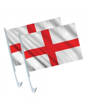 England Car Flags at Fancy Dress and Party