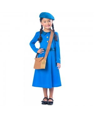Evacuee Girl at Fancy Dress and Party