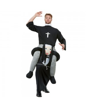 Funny Nun Costume at Fancy Dress and Party