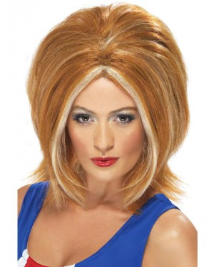 Ginger Spice Wig at Fancy Dress and Party