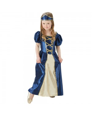 Girls Renaissance Princess at Fancy Dress and Party