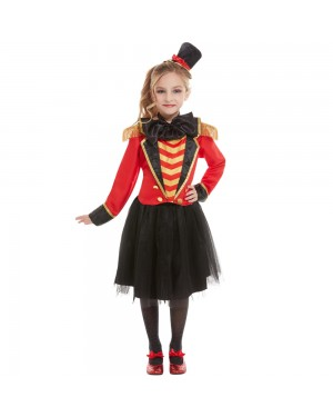 Girls Ringmaster Costume at Fancy Dress and Party