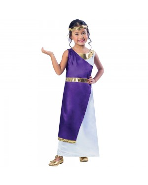 Girls Toga Costume at Fancy Dress and Party