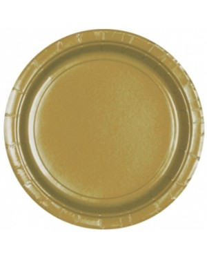 Gold Paper Plates at Fancy Dress and Party